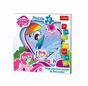 Puzzle My Little Pony Rainbow Dash - Baby Fun 8,