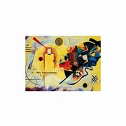Puzzle 1000 Museum Modern Art Yellow-Red-Blue,