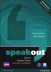 Speakout Starter Students' Book + DVD, Eales Frances, Oakes Steve