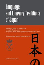 Language and literary traditions of Japan,