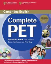 Complete PET Student's Book with answers +3CD, Heyderman Emma, May Peter