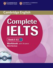 Complete IELTS Bands 5-6.5 Workbook with answers, Harrison Mark