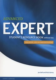 Advanced Expert Student Resource Book without key, Bell Jan, Kenny Nick