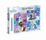 Puzzle SuperColor  Olaf's Frozen Adventure 3x48,