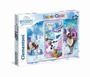 Puzzle SuperColor Olaf's Frozen Adventure 104,