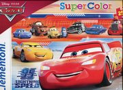 Puzzle SuperColor 250 Cars 3,