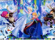 Puzzle SuperColor Maxi 24 Frozen,
