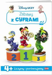 DISNEY UCZY Junior Zabawy z cyframi,