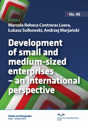 Development of small and medium-sized enterprises ? an international perspective,