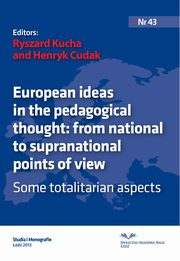 European ideas in the pedagogical thought: from national to supranational points of view. Some totalitarian aspects,